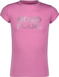 Ružové detské bavlnené tričko SPILL - NBSKT6821L