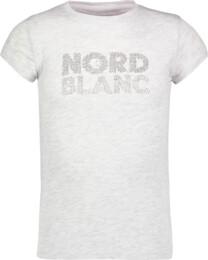 Šedé detské bavlnené tričko SPILL - NBSKT6821S