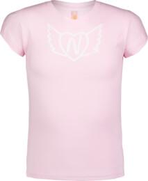 Tricou roz pentru copii HEARTY - NBSKT6822S