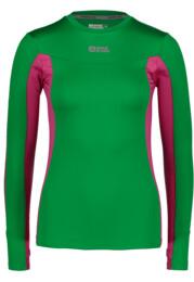 Zöld női funcionális póló LOVABLE - NBFLF5892