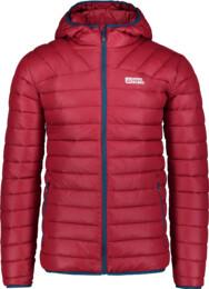 Jachetă bordo matlasată pentru bărbați QUILT
