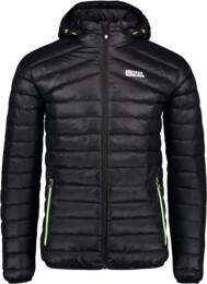 Men's black down jacket HEARTH