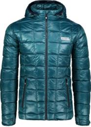 Men's green down jacket BLAZE