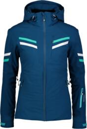Modrá dámská lyžařská bunda STATELY