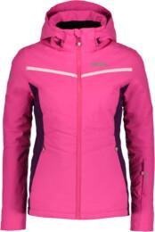Jachetă de schi roz pentru femei PETITE