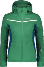 Zelená dámská lyžařská bunda PETITE