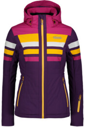 Fialová dámská lyžařská bunda MOTLEY