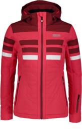 Červená dámská lyžařská bunda MOTLEY