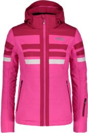 Růžová dámská lyžařská bunda MOTLEY