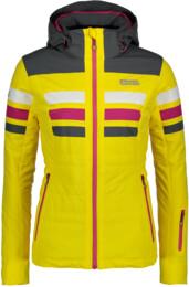 Žlutá dámská lyžařská bunda MOTLEY