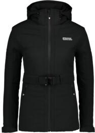 Fekete női téli dzseki ORNATE