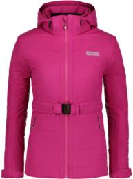 Růžová dámská zimní bunda ORNATE