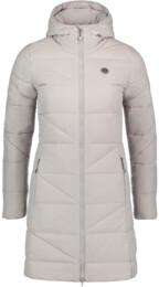 Šedy dámsky zimný kabát TINT - NBWJL6428