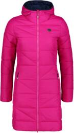Růžový dámský zimní kabát TINT - NBWJL6428