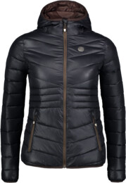 Women's black quilted jacket GLAMOR - NBWJL6429