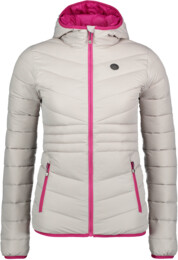 Women's grey quilted jacket GLAMOR - NBWJL6429