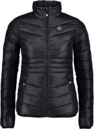 Women's black quilted jacket SAVOR - NBWJL6430
