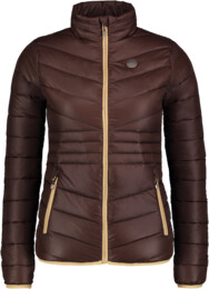 Women's brown quilted jacket SAVOR - NBWJL6430