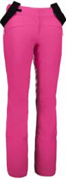 Růžové dámské lyžařské kalhoty DOCILE