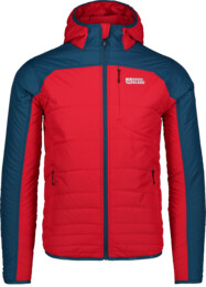 Men's red sports jacket RAMBO - NBWJM6443