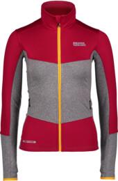 Women's red power fleece jacket UNEQUAL - NBFLF6454