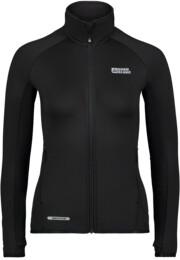 Women's black power fleece jacket BREEZE - NBFLF6455