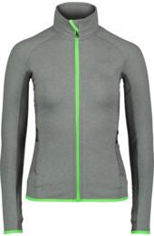 Women's grey power fleece jacket BREEZE - NBFLF6455