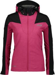 Růžová dámská zateplená softshellová bunda FUSTIAN