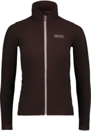 Women's brown light fleece jacket STENCIL - NBWFL6473