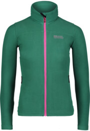 Women's green light fleece jacket STENCIL - NBWFL6473