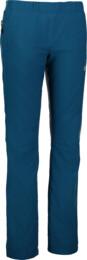 Women's blue outdoor pants with fleece MODEST - NBFPL6486
