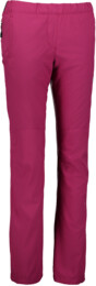 Women's pink outdoor pants with fleece MODEST - NBFPL6486