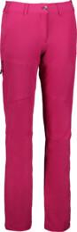 Women's pink outdoor pants with fleece LUCID - NBFPL6491