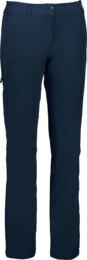 Women's blue outdoor pants with fleece LUCID - NBFPL6491