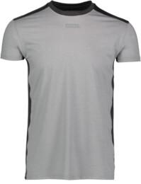 Men's grey functional fitness t-shirt MOTIVE