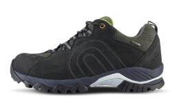 Černé pánské kožené outdoorové boty SHOCKWAVE - NBLCM10