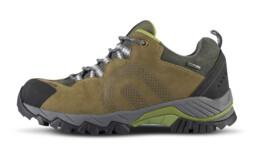 Khaki pánske kožené outdoorové topánky SHOCKWAVE - NBLCM10