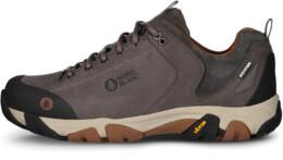 Šedé dámské kožené outdoorové boty DIVELIGHT - NBLC39