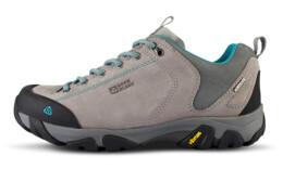 Modré dámské kožené outdoorové boty DIVELIGHT - NBLC39A