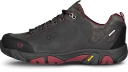 Pantofi gri din piele outdoor pentru femei DIVELIGHT - NBLC39