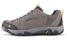 Černé pánské kožené outdoorové boty FIRSTFIRE - NBLC40A