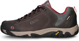 Hnedé pánske kožené outdoorové topánky FIRSTFIRE - NBLC40
