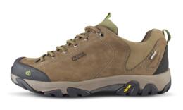 Šedé pánské kožené outdoorové boty FIRSTFIRE - NBLC40A