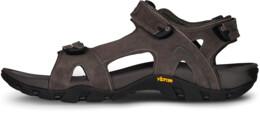 Sandale negre din piele pentru bărbați MARTINEZ - NBSS51