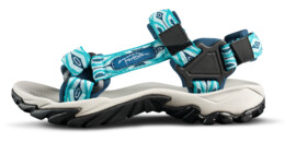 Women's blue outdoor sandal VOYAGE - NBSS54