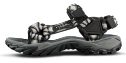Women's black outdoor sandal VOYAGE - NBSS54