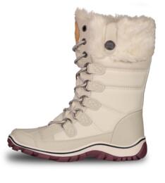 Bílé dámské zimní boty ICEBEAR - NBHC6857