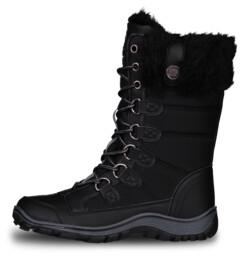 Čierne dámske zimné topánky ICEBEAR - NBHC6857