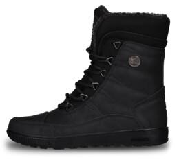 Čierne dámske zimné topánky GRIZZLY - NBHC6858