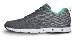 Grey sports shoes PUNCHY - NBLC6859